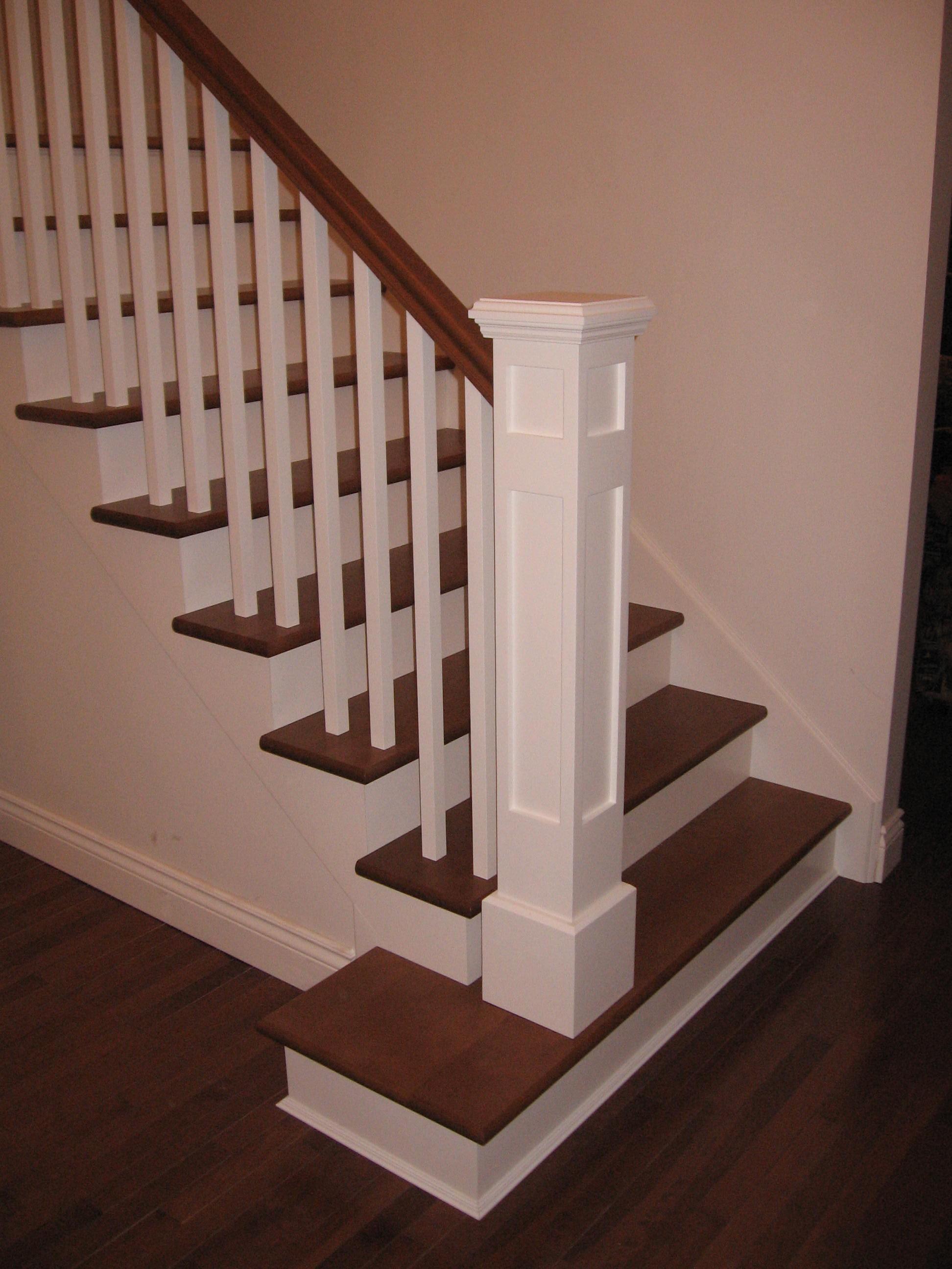 Escaliers en bois menuiserie de l 39 estrie - Creer un escalier en bois ...