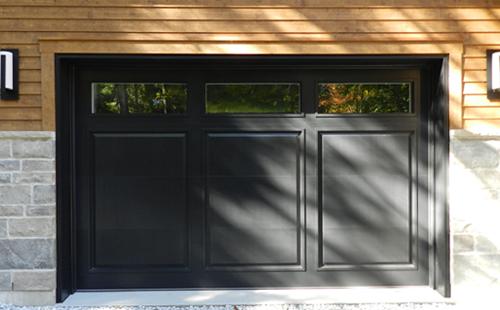 Porte De Garage En Bois Menuiserie De LEstrie - Porte garage bois